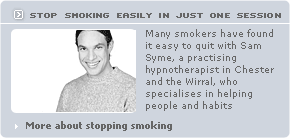 Stop smoking in Chester and Wirral with hypnotherapy
